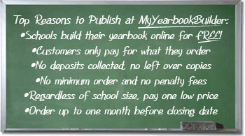 Top Reasons to Publish at MyYearbookBuilder: